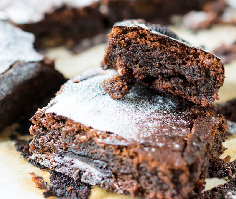 Gluten Free Chocolate Black Bean Brownies