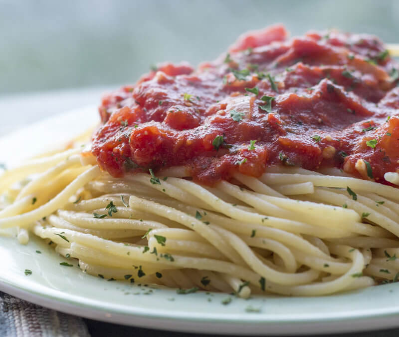 Perfect Homemade Spaghetti Sauce