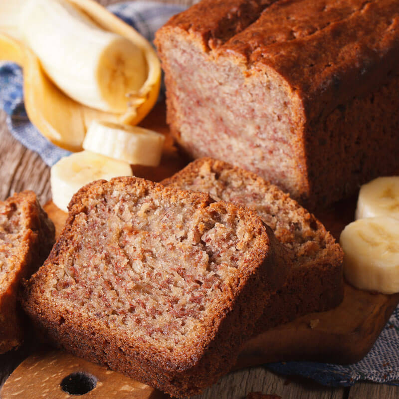 Gluten Free Banana Bread Recipe