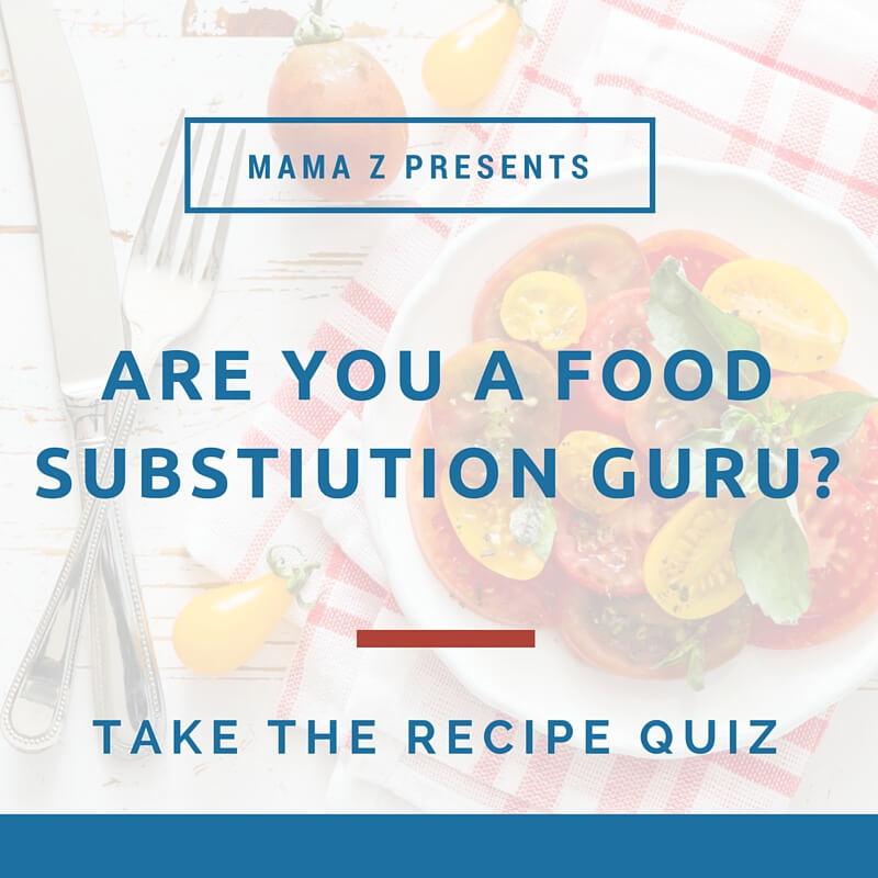 Recipe Quiz