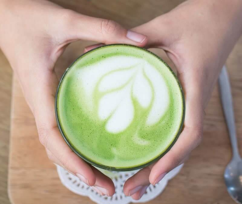 Fat-Burning Matcha Green Tea Latte