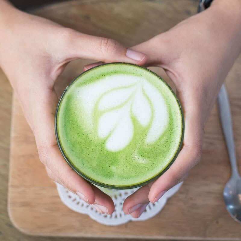 Matcha Green Tea Latte to Lose Weight, Fight Cancer & Boost Immune Function