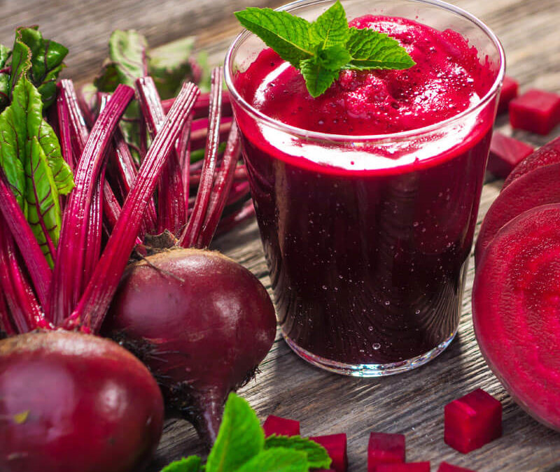 Mama Z's Cleansing Booster Beet Juice