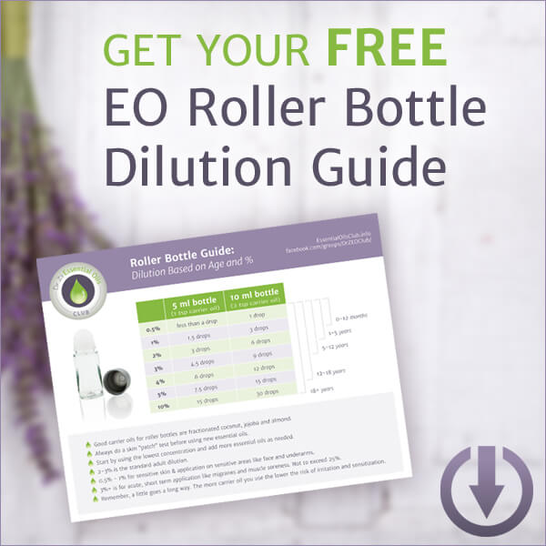 Essential Oil Roller Bottle Dilution Guide