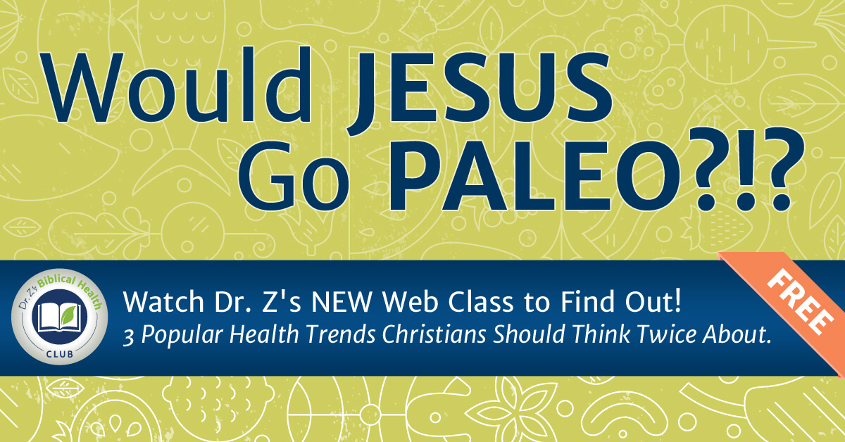 Bible Health Club_JesusPaleo
