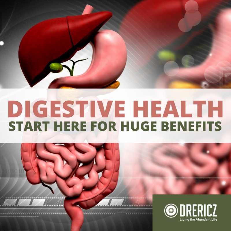 Digestive Health- A Starting Point with Huge Benefits