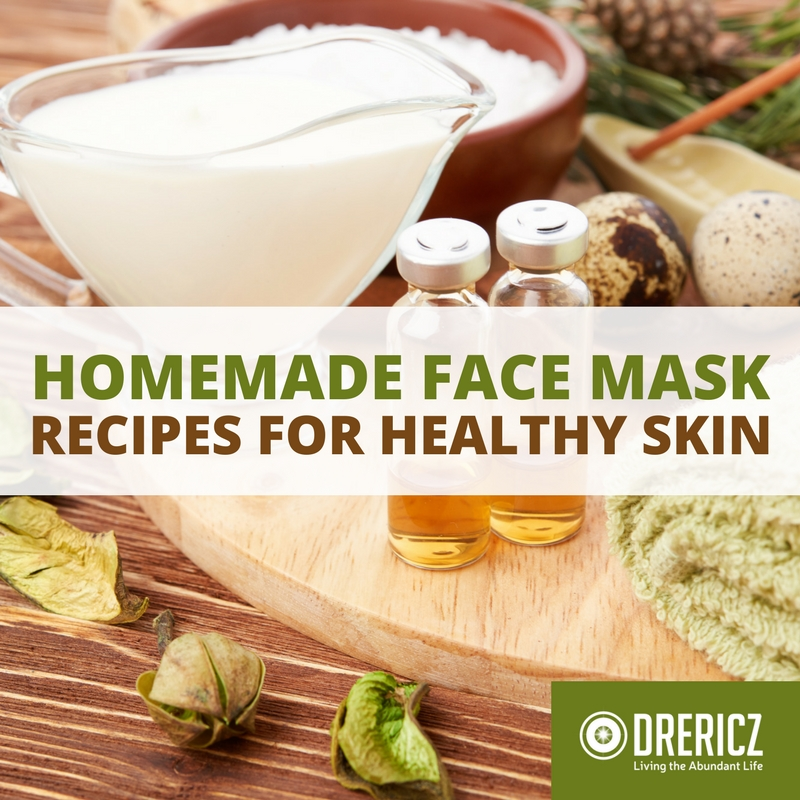 Homemade Face Mask Recipes