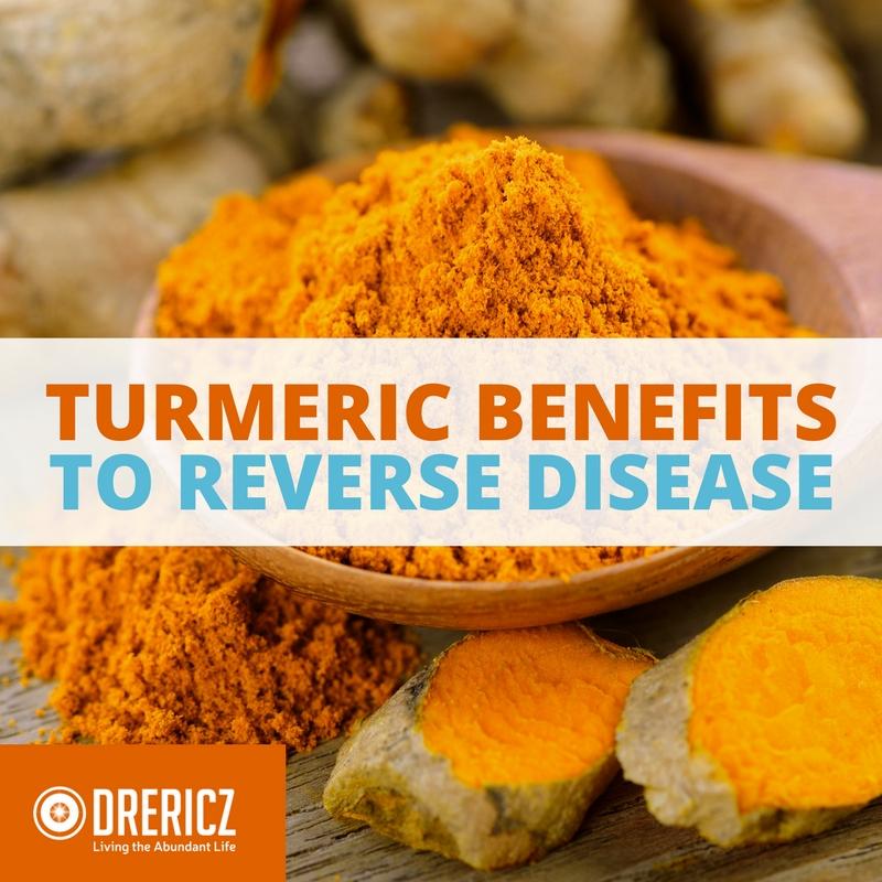 Turmeric Benefits to Reverse Disease