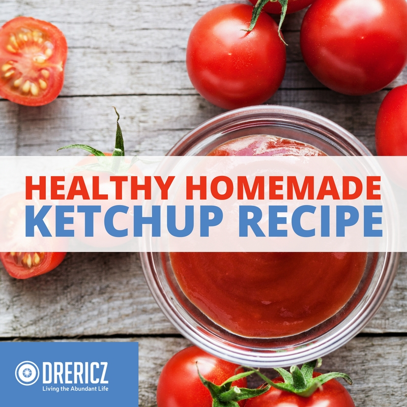 Healthy Homemade Ketchup Recipe