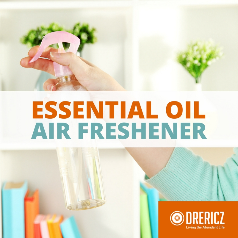 Homemade Air Freshener with Essential Oils