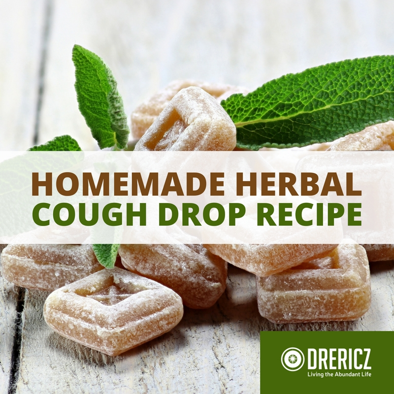 Homemade Cough Drop Recipe