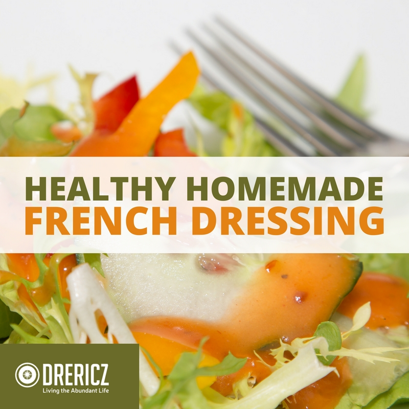 Homemade French Dressing Recipe