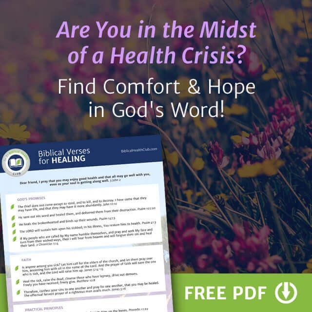 Bible Verses for Healing PDF