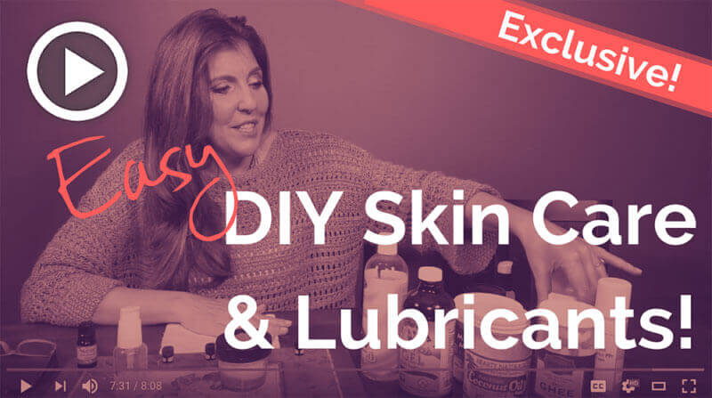 DIY Lubricants for Vaginal Dryness Video