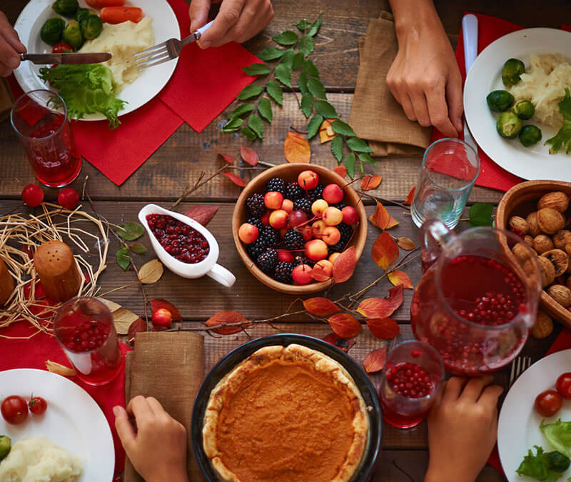 Healthy Thanksgiving Recipes: From Our Family to Yours