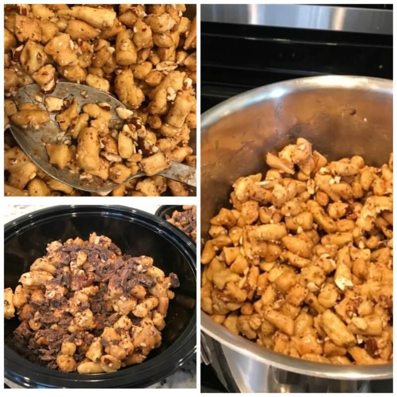Struffoli recipe: Italian Honey Balls Finished