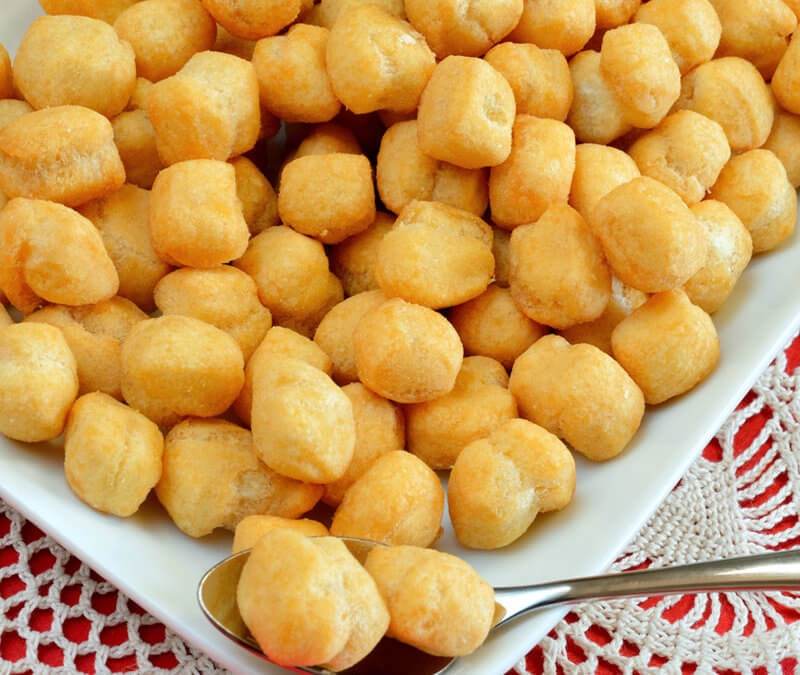 Italian Honey Balls: Gluten-Free Struffoli Recipe