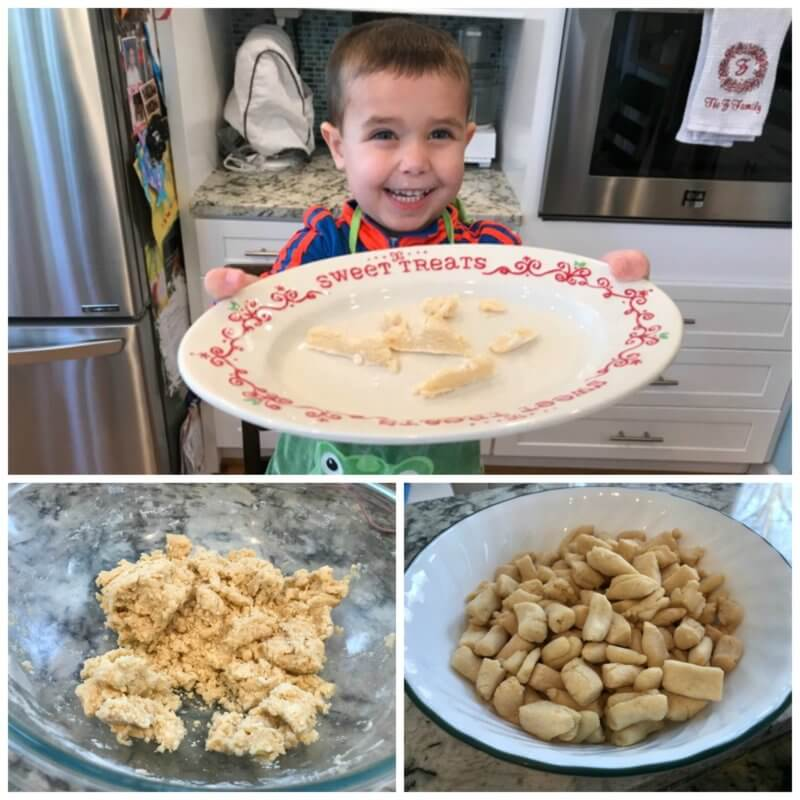 Struffoli recipe: Italian Honey Balls Plate