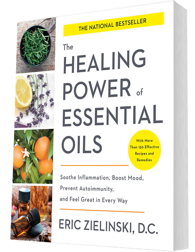 Healing Power Of Essential Oils Book By Dr Eric Zielinski Natural