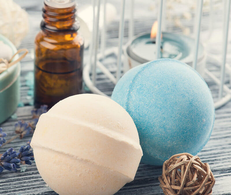 Relaxing DIY Essential Oil Bath Bomb Recipe