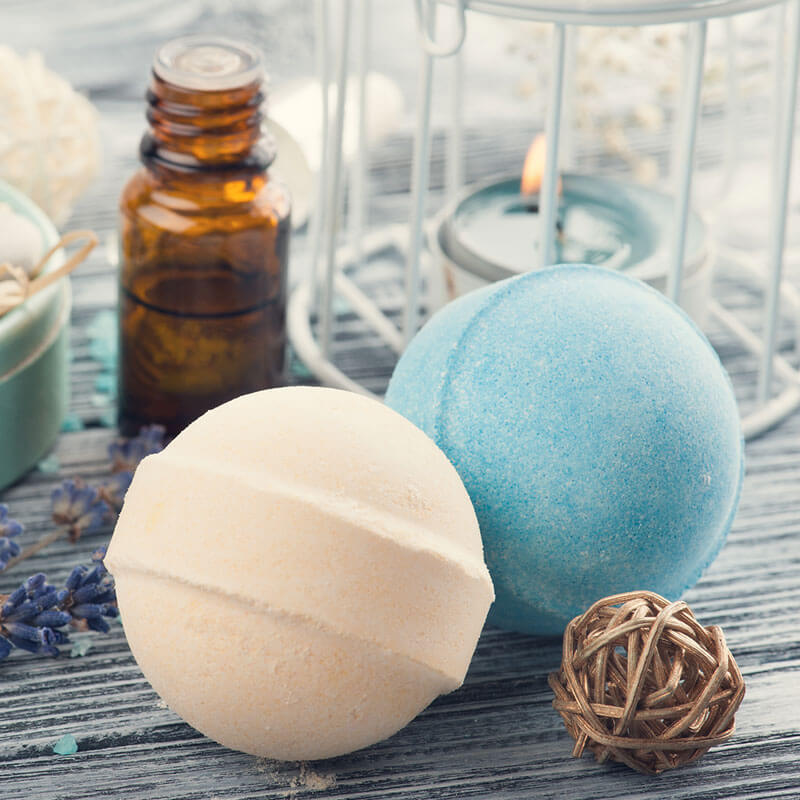 Relaxing DIY Essential Oil Bath Bomb Recipe