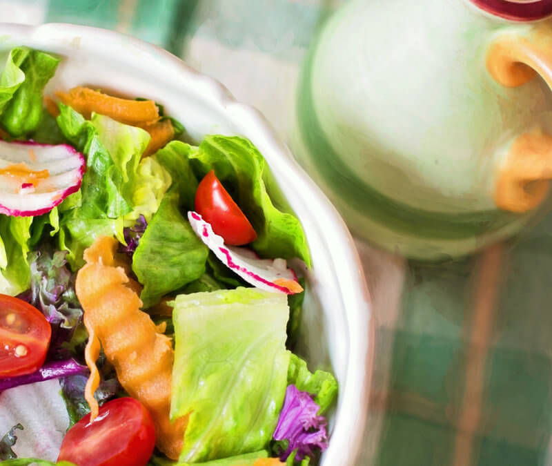Easy Chicken Salad Recipe with Vegan Ranch Dressing
