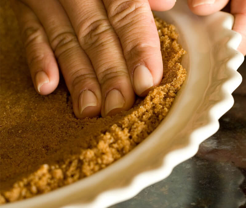 Cookie Crumb Style Pie Crust Recipe