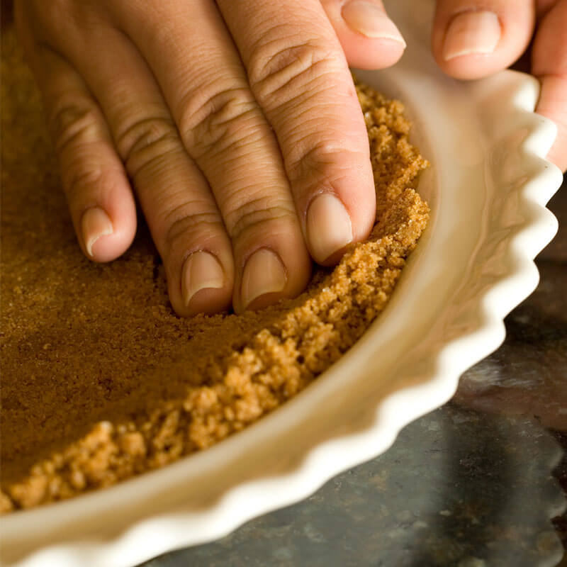 Cookie Crumb Style Pie Crust Recipe