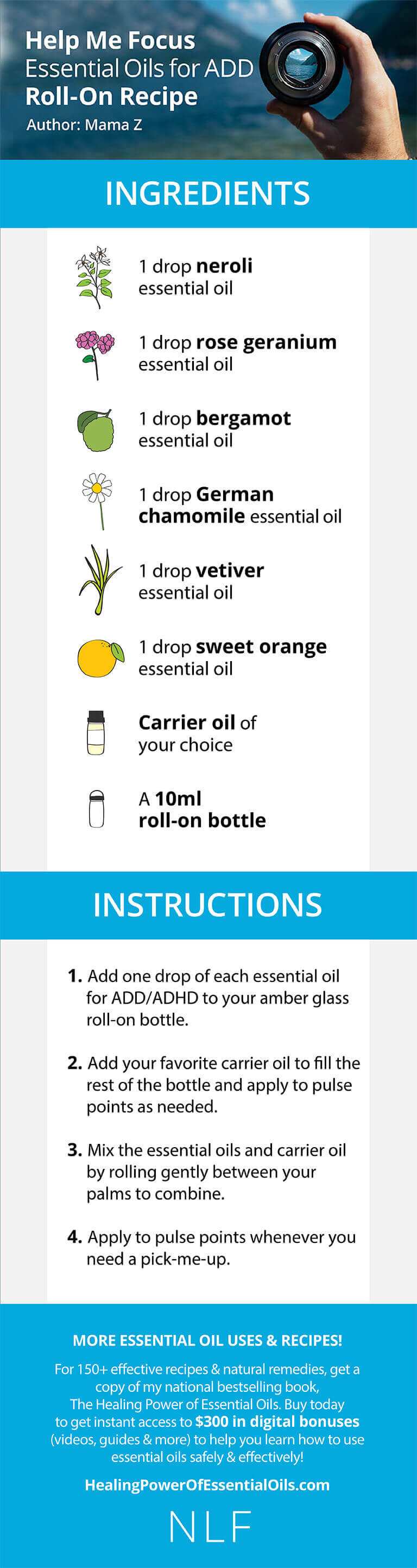 Essential Oils for ADD / ADHD: An Easy to Make Remedy that Works!