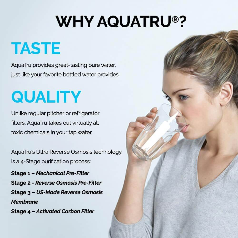AquaTru Water Filter Review - How to Purify Tap Water