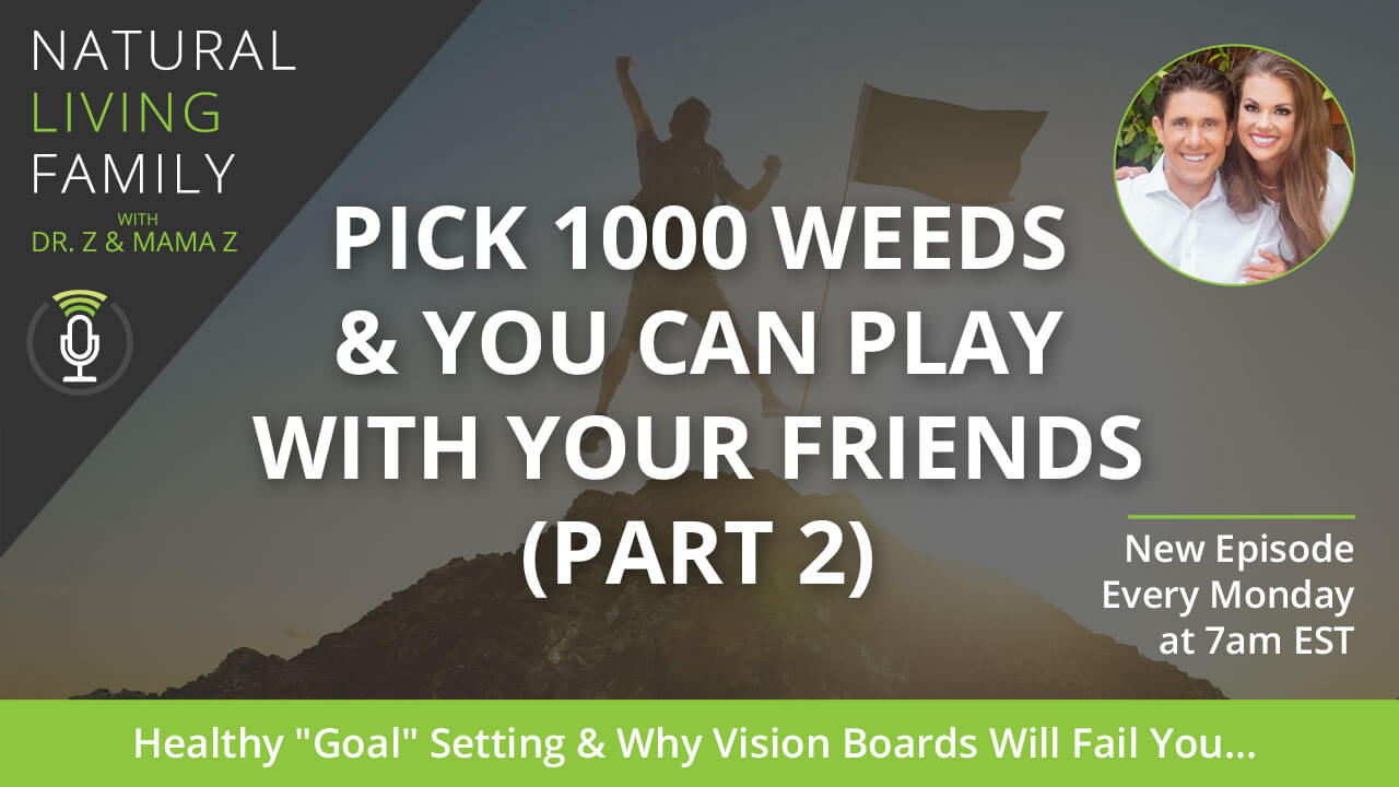 Pick 1000 Weeds & You Can Play with Your Friends (Part 2): Beyond Goal Setting and Vision Boards Podcast Episode 7
