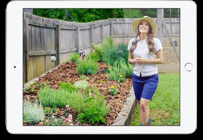 Herb Garden iPad Image