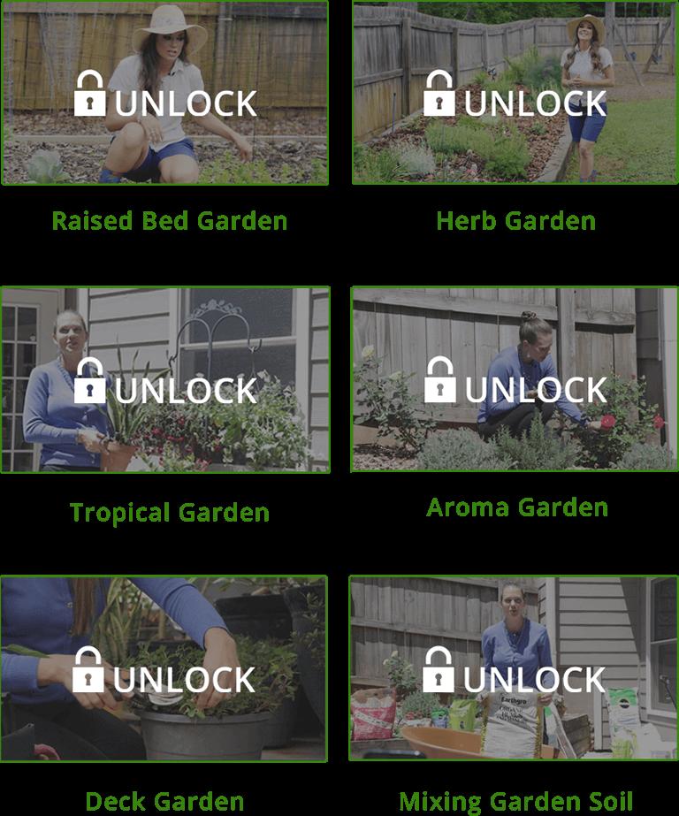 Unlock Organic Gardening Videos