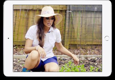 Veggie Garden iPad Image
