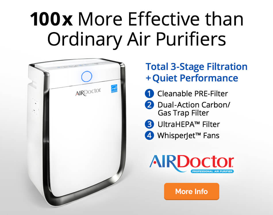 Air Doctor Home Filtration System Special for Natural Living Family