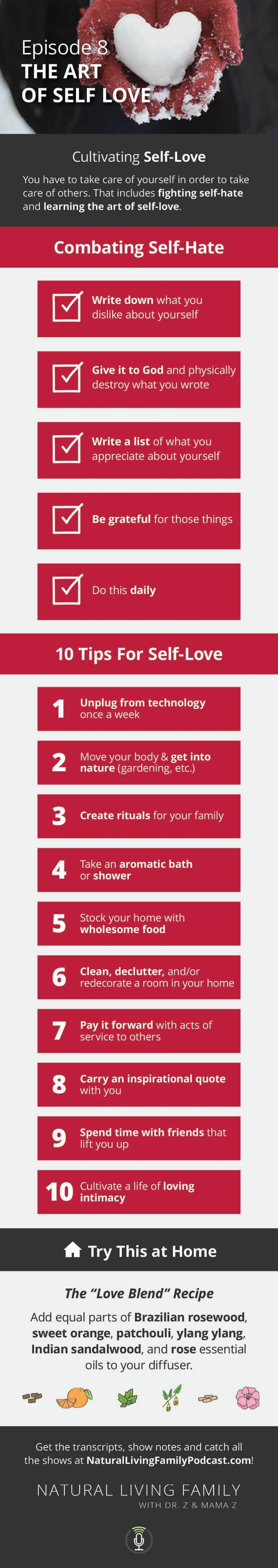 Digital Detox, Earthing & Family Traditions The Art of Self Love (Part 1) Natural Living Family Podcast Episode 8