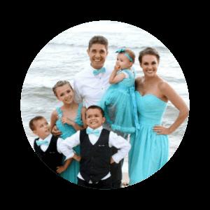 Z Beach Family Photo Circle