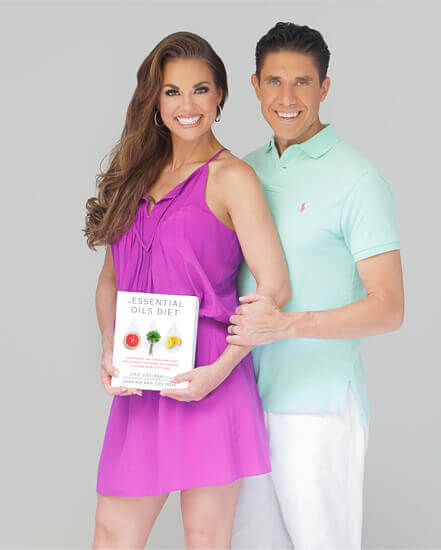 Dr. Z & Mama Z with The Essential Oils Diet Book