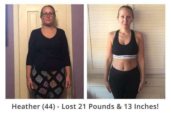 Essential Oils Diet Transformation - Heather