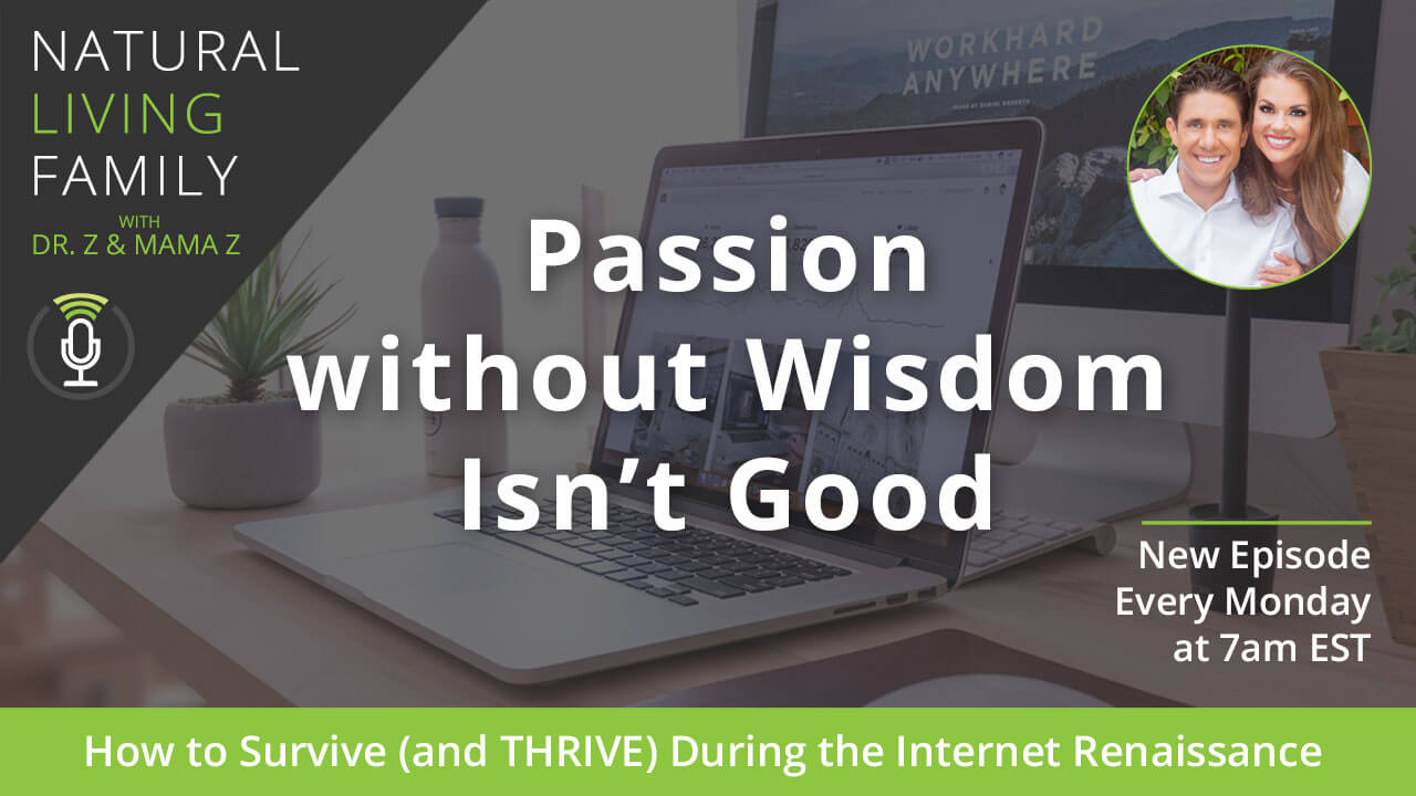 Passion without Wisdom Isn't Good: How to Survive (and THRIVE) During the Internet Renaissance – Podcast Episode 13