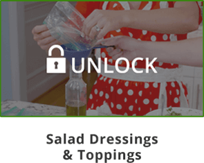 Unlock Mama Z's Salad Dressings & Toppings Video