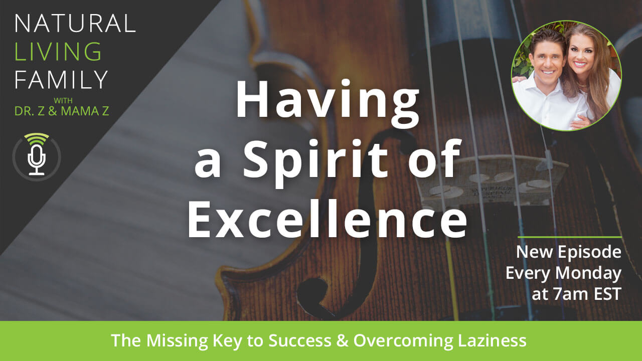 Having a Spirit of Excellence: The Missing Key to Success & Overcoming Laziness Podcast Episode 17