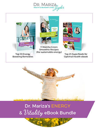 Heal Your Gut Summit Dr. Mariza's Energy & vitality eBook