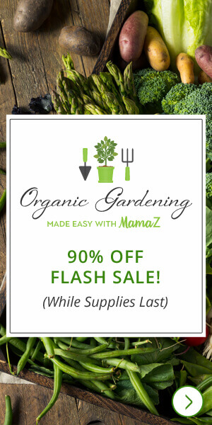 Organic Gardening - 90% Off Flash Sale